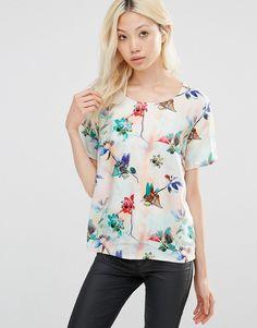 Y.A.S Floral Print Shirt