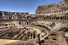 The Coliseum is incredibly well preserved and it's a proof regarding the gladiator times. When events were held in it, more than 50,000 Romans could fit in it, it was a symbol of the Italian capital and it still is.