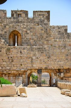 The architecture of the Holy Land, Jerusalem, Israel. (V)