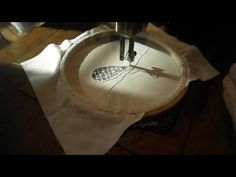 Treadle Sewint Machine Cutwork Embroidery with Royal Part 3 - YouTube