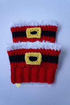 Ravelry: Holiday Cheer Boot Cuffs pattern by RaeLynn Orff