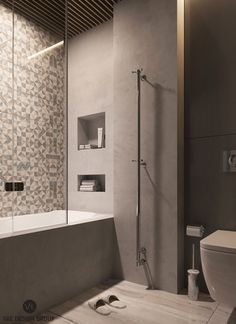 szürke fürdőszoba