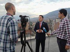 """""""La identidad de #Medellín ante el mundo tiene que ser la innovación"""" Alcalde a Deutsche Welle de Alemania"""