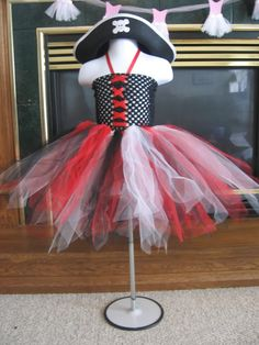 Image detail for -... Baby Boutique - Pirate Tutu Dress-Tutu, Pirate, Tutu Dress, Dress