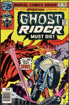 Ghost Rider, Marvel comics _____ CCV _____