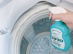 Diy Cleaning Products, Cleaning Hacks, Cleaning Supplies, Clean My House, Drying Rack Laundry, Konmari Method, Laundry Closet, Daiso, Home Management