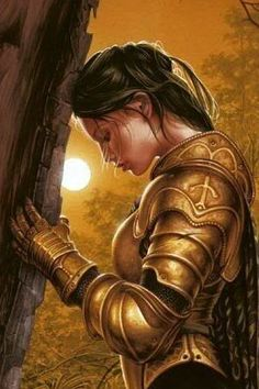 Goddess, please hear my prayer. May my sword strike true. May I never faulter on my path. Let your Light show the way so that I may carry forth to cleanse the night. Bless the souls of my enemies for I will show no mercy.