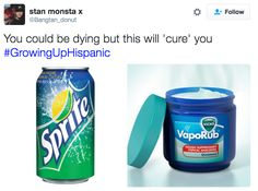 Ginger ale or Gatorade also or Ibprofen Mexican Funny Memes, Mexican Jokes, Funny Spanish Memes, Spanish Humor, Funny Relatable Memes, Funny Quotes, Mexican Stuff, Mexican Sayings, Relatable Posts