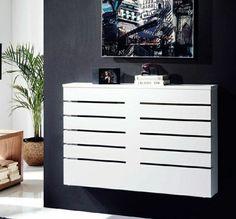 cache radiateur castorama et le cache radiateur moderne en bois blanc