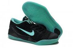 Kobe IX Basketball Shoes Black Green