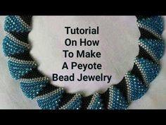 Tutorial On How To Make Peyote Bead Jewelry – Handwerk und Basteln Diy Jewelry Tutorials, Diy Jewelry Making, Beading Tutorials, Jewelry Patterns, Beading Patterns, Best Friend Necklaces, Peyote Beading, Diy Schmuck, Peyote Stitch