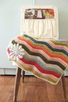 blanket with doily @Alison Casey?? I like this so much!! I'm thinking maybe Eisley may be receiving this :)