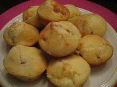 Muffins con pancetta e formaggio