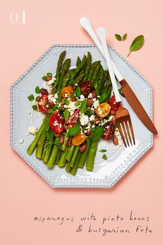 Theme and variation: Asparagus Three ways. Now on the blog.