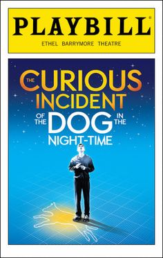 The Curious Incident of the Dog in the Night-Time Playbill