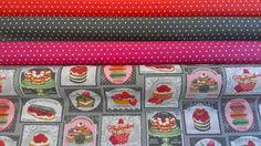 Tutos - Les Carollaises, tissu enduit au mètre pour nappe ou création, création d'accessoires trousses, sacs, Mélamine Rice, Jolis accessoires enfants
