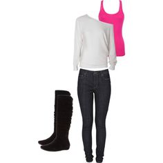 """""""Comfy winter outfit"""" Different Shoes Though"""