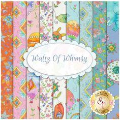c3e0b499dc Waltz Of Whimsy 9 FQ Set by Blend Fabrics | Shabby Fabrics Quilting Fabric  Tecidos,