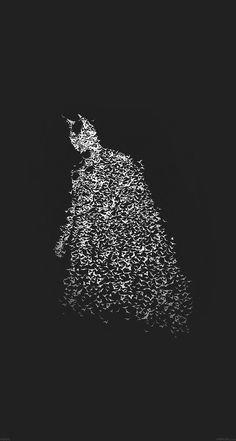 Batman by Bats Dark Batman #papers.co
