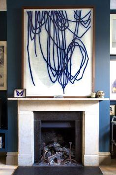 Turner Pocock interior design art www. Modern Art, Contemporary Art, Inspiration Art, Art Watercolor, Encaustic Art, Claude Monet, Pablo Picasso, Large Art, Oeuvre D'art