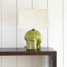 Elephant Ceramic Table Lamp - eclectic - table lamps - - by World Market