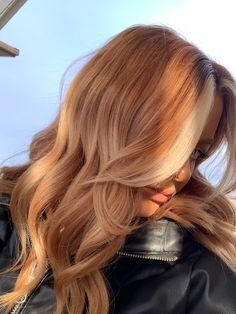 Ginger Hair Color, Strawberry Blonde Hair Color, Red Blonde Hair, Balayage Hair Blonde, Ombre Hair, Strawberry Blonde Hairstyles, Ombre Ginger Hair, Red Hair Blonde Highlights, Strawberry Brown Hair