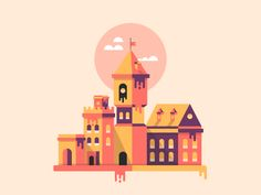 Melting Castle by Victor Belinatti