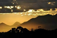 Sunset on The Links golf course#George#garden route