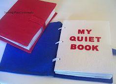 Quiet book template