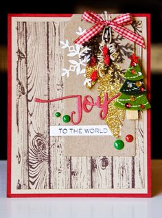 One last card using the background stamp from Stampin Up. This is just a mix of supplies (branch die from Martha Stewart, snowflake die from. Diy Christmas Cards, Noel Christmas, Xmas Cards, Handmade Christmas, Christmas Stuff, Greeting Cards, Scrapbook Cards, Scrapbooking, Winter Cards