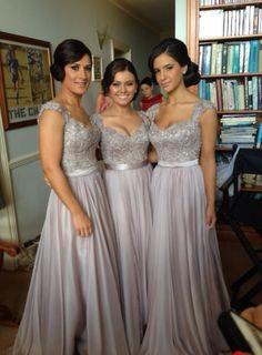Love these bridesmaid dresses!!