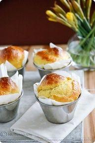 My buttery saffron brioche - a perfect Easter brunch treat! (Photo  Recipe by Meeta K. Wolff: www.whatsforlunch...)