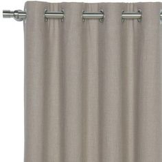 "Eastern Accents Breeze Pure Grommet Single Curtain Panel Size: 48"" W x 96"" L, Color: Sand"