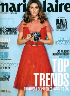 Olivia Palermo on Marie Claire Spain