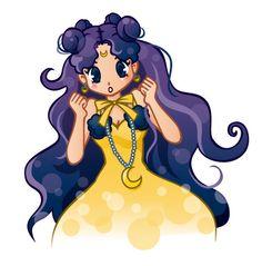 Sailor Moon / Luna human