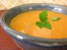 Sopa de Batata Doce / Sweet Potato Soup (recipe in english)