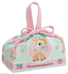 f6d81b8bd Product Name : SANRIO Hummingmint Drawstring Pouch Bag Manufacture : Skater  Condition : Brand New Include