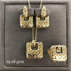 Gold Accessories, Dog Tags, Dog Tag Necklace, Trendy Fashion, Monogram, Michael Kors, Stylish, Pattern, Bags