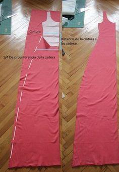 como hacer un vestido