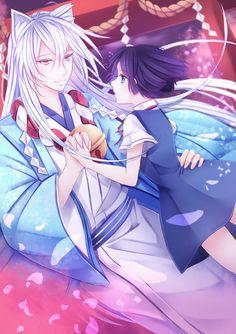 Kokkuri-san & Kohina | Gugure! Kokkuri-san