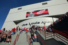 Joe Louis Arena Detroit, MI Home of the Detroit Red Wings