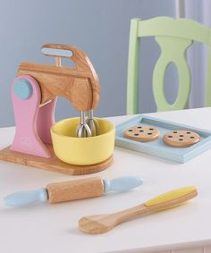 Take a look at this Pastel Baking Set by KidKraft on #zulily today!
