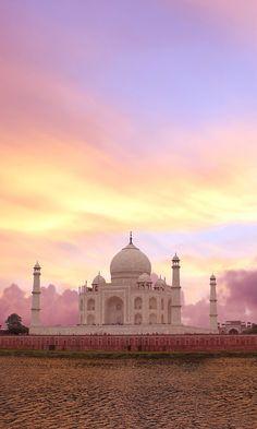 Taj Mahal at Agra, India. #tajmahal #travel #viajar