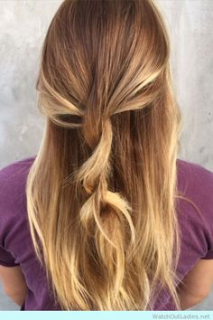 Light brown base with tapered highlights-for fall season! check now <3