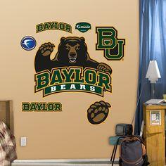 Baylor Bears Logo for dorm/office