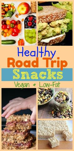 Since there are so many of us hitting the road this summer, I want to share this list of Healthy Road Trip Snacks that will keep you feeling full, nourished, and able to enjoy the beautiful road that lies ahead. Sandwiches, wraps, or just snacks, we've got it all covered. There are even some great ideas for an emergency food box to keep in your car at all times from Little Blue Plates.