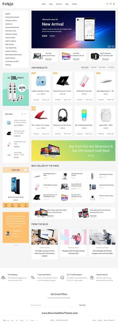9606 Best Creative eCommerce Website Themes images in 2019