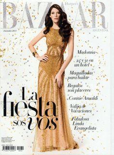 Harper's Bazaar Argentina December 2013