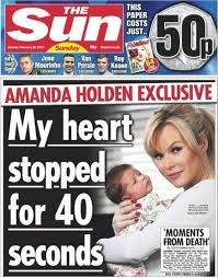 Image result for tabloid newspaper