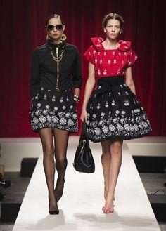#Fashion-ivabellini #Milan Fashion Week MOSCHINO PRIMAVERA ESTATE 2014
